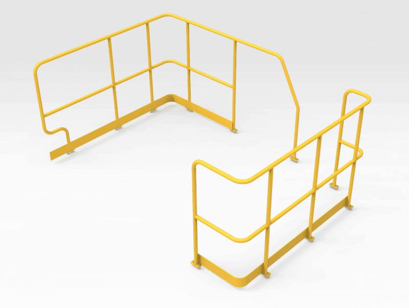 Caterpillar 785D Water Cart Handrails