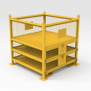 Hub Roller Changeout Idler Cage