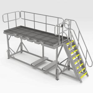 Liebherr 996 Bucket Access Platform