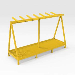 Freestanding Chain Rack