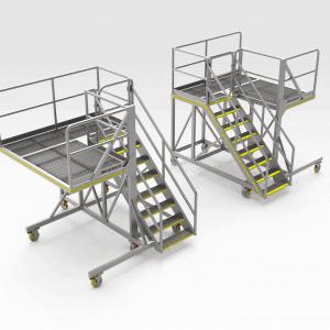 Caterpillar 16m Engine Bay Access Platform