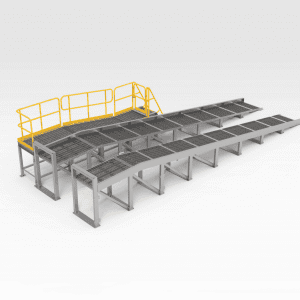 Light Vehicle Washdown Ramp Large
