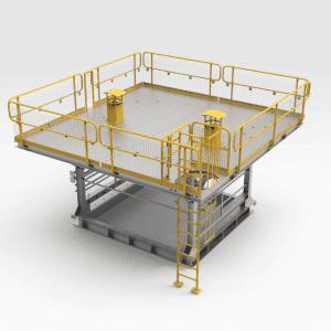 Primary Crusher Work Platform