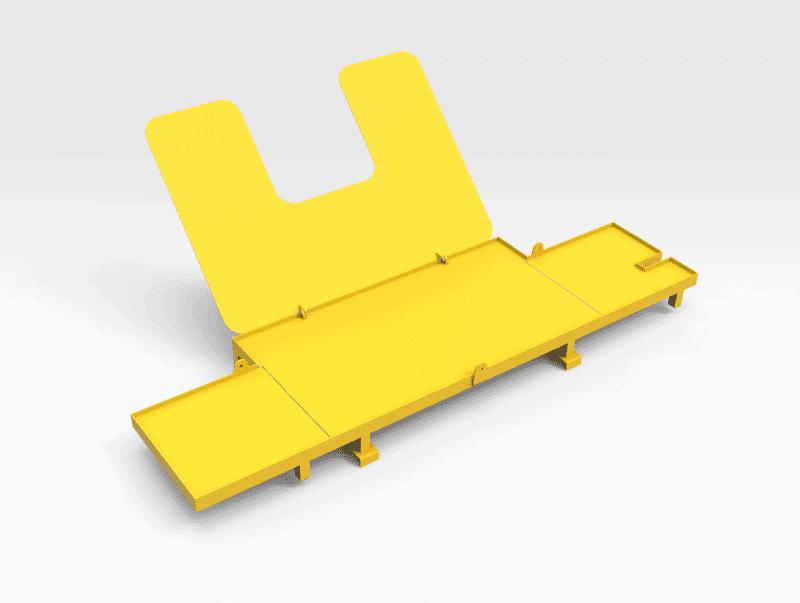 Liebherr 996 Boom Arch Hose Access Platform