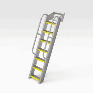 Caterpillar D11 Dozer Ladder Extension