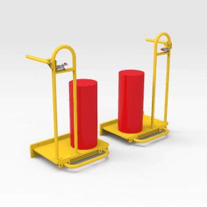 Caterpillar D10/D11 Dozer Fire Suppression Platforms