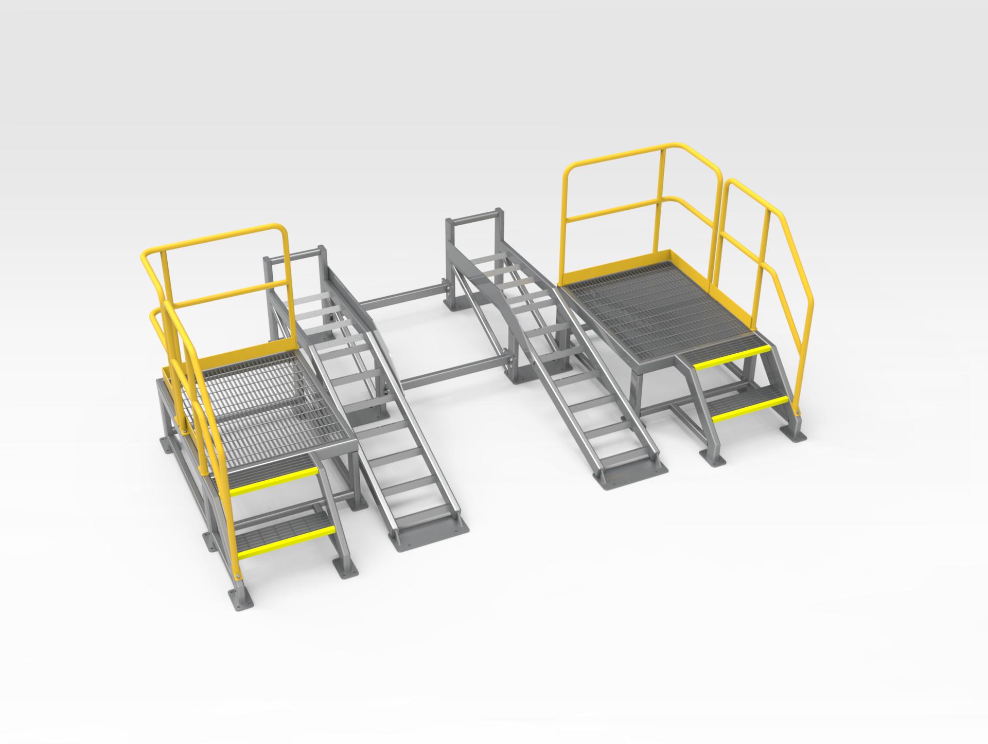 5502111 Washdown Ramp and Platform Assembly FL 21