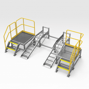 Washdown Ramp and Platform Assembly FR 21