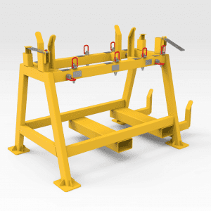Conveyor Belt Reeling Cogshaft Transport Frame