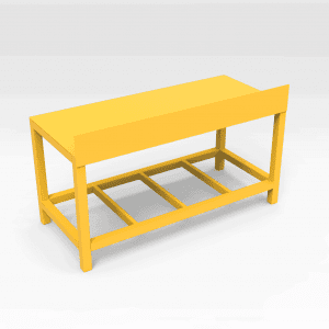 Work Bench with Backboard