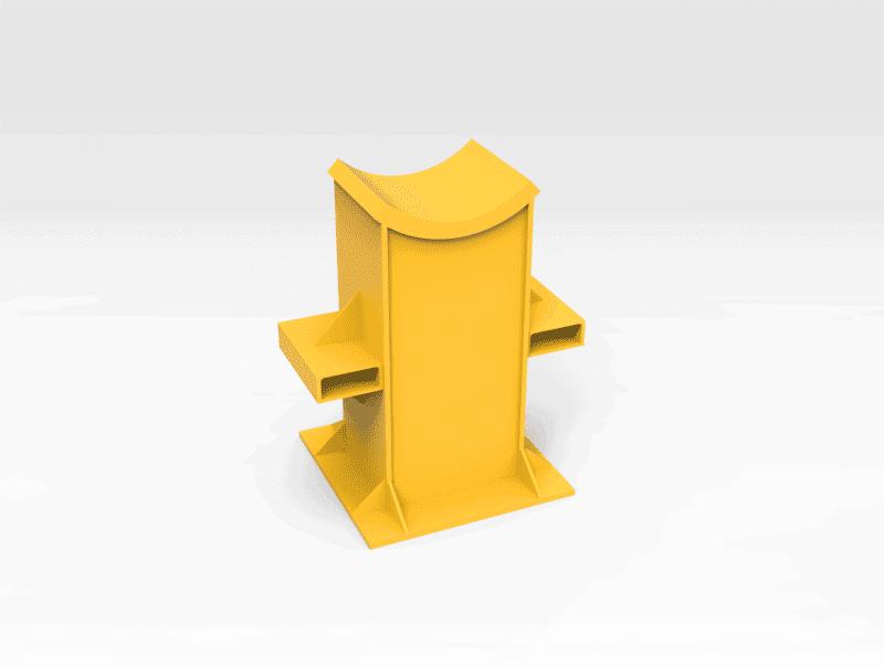 Excavator Stick Stand