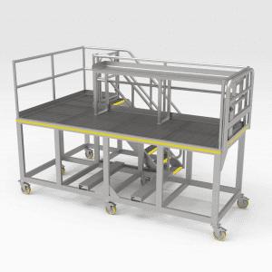Komatsu 730E/830E Front Engine Access Platform