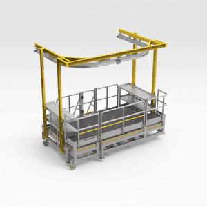 Front Caliper Removal Monorail Platform
