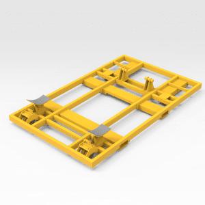 Epiroc/Atlas MT65 Tub Transport Frame