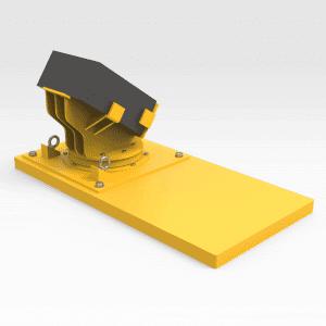 LeTourneau L1850 Lift Cylinder Block Cradle