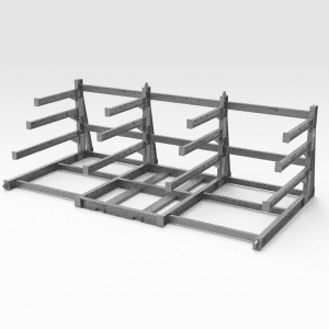Flexible Sheeting and Gridmesh Rack GAL FR