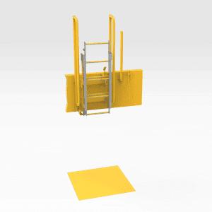 Caterpillar 854K Emergency Ladder