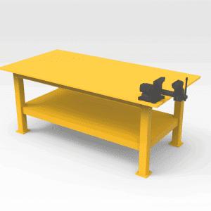 Heavy Duty Work Bench 2400 x 1200mm