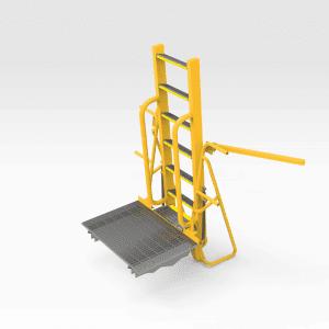 Caterpillar 24M Grader Emergency Access Ladder