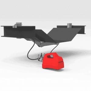 Hydraulic Conveyor Belt Lifter