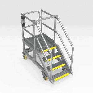 Komatsu 830E Battery Maintenance Access Platform