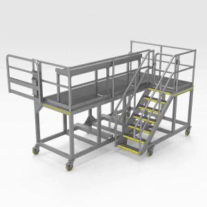 Komatsu 830E Front Engine Access Platform