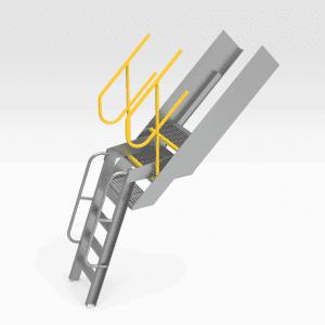 Hitachi EX3600 Aluminium Ladder Extension