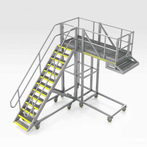 Caterpillar 777 Chassis Access Platform