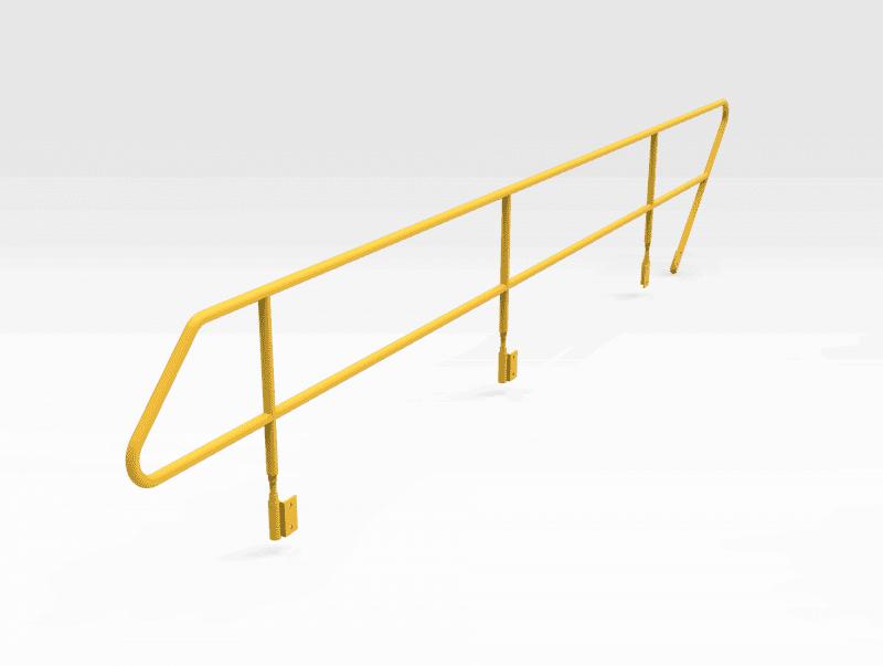 Caterpillar 7495 Boom Walkaway Handrails