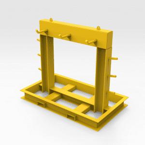 Tray Ropes Storage Rack