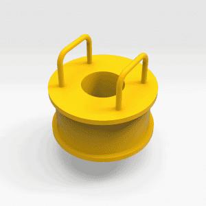 Caterpillar 994H Inner Sun Gear Installation Tool