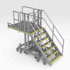 Caterpillar D10T Side Engine Access Platform