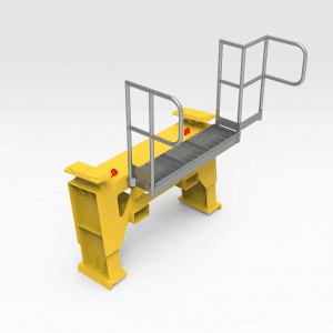 Caterpillar 785 Water Cart Chassis Stand And Platform