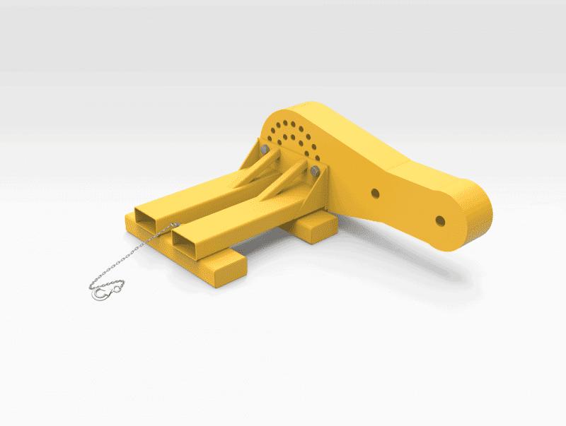 Caterpillar 793F Lower Steering Link Lifter