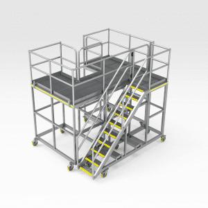 Komatsu 830E Strut Access Platform
