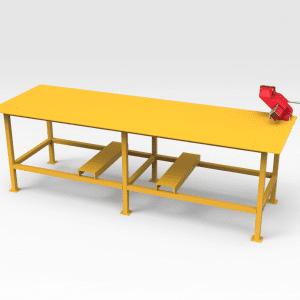 Workbench with Vice 1 Tonne 3000mm (L) x 1000mm (W)