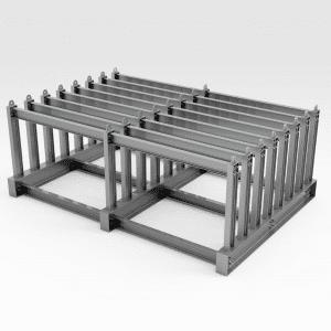 Extra Heavy Duty Vertical Plate Storage Rack
