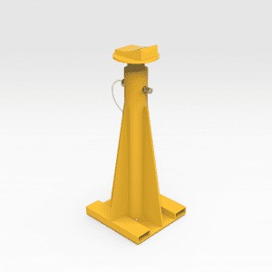 Komatsu 830/930E Support Stand With Curved Top