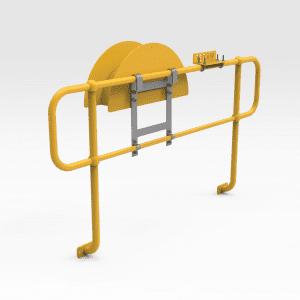 Handrail Mounted Hose Hanger
