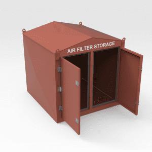 Liebherr 996 Air Filter Storage Box