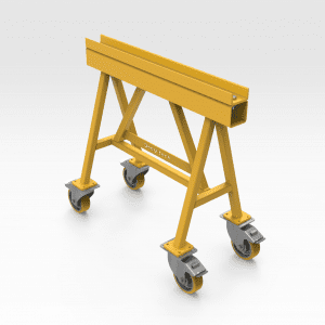 2 Tonne Trestle With Wheels