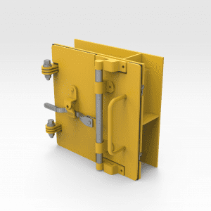 Access Door 250mm x 250mm with Container Lock