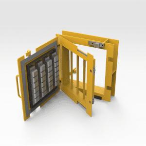 Access Door 350mm x 350mm with Container Lock