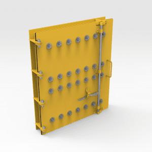 Access Door 700mm x 850mm with Container Lock