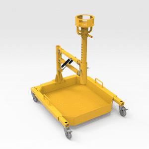 Komatsu 830E Hydraulic Filter Removal Stand