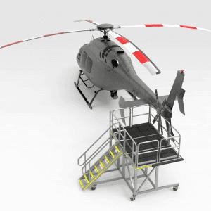 Bell 429 Tail Rotor Inspection Platform