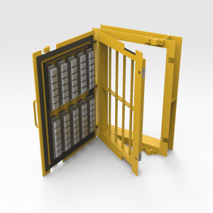 Access Door 450mm x 650mm with Container Lock