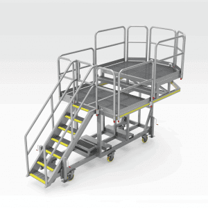 In-Tray Side Wall Access Platform