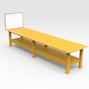 Workshop Bench With Removable Whiteboard