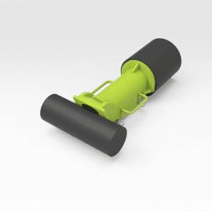 Epiroc D65 Drill Boom Raise Ram Clamp
